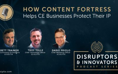 How Content Fortress Helps Continuing Education Businesses Protect Their Intellectual Property